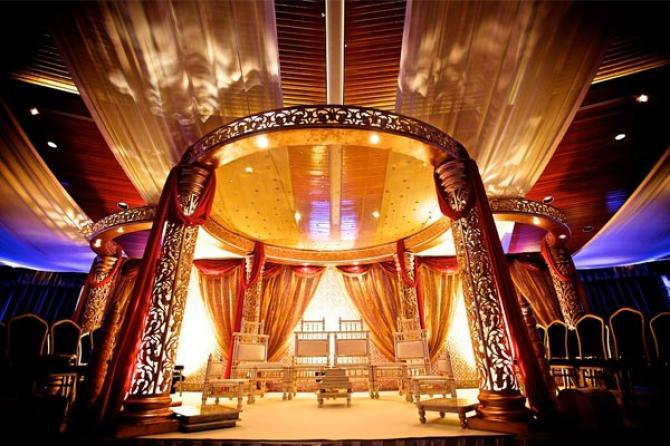 Indian theme Wedding decoartions