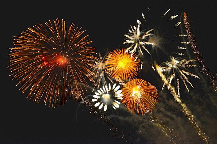 75th-birthday-fireworks