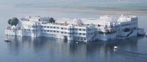 Beautiful lake palace