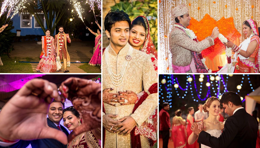 Memorable Wedding Photography Poses For An Indian Couple