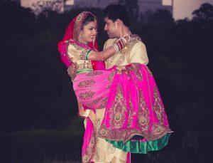 carry the bride pose