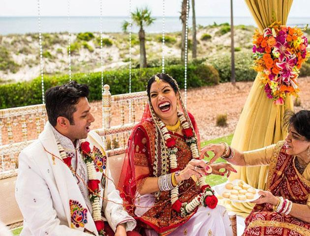 Indian Beach Wedding in Daman & Diu
