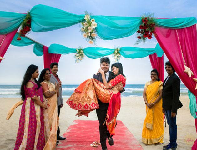 Beach Wedding in Pondicherry
