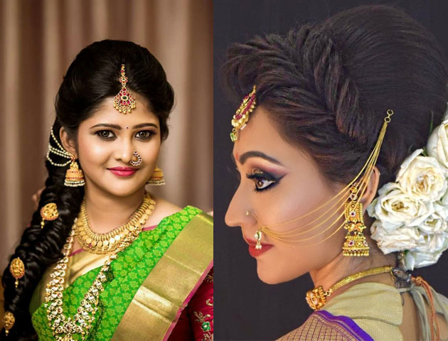 Trending Indian Bridal Hairstyles For This Wedding Season