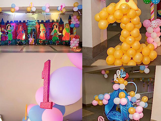 Number Baloons