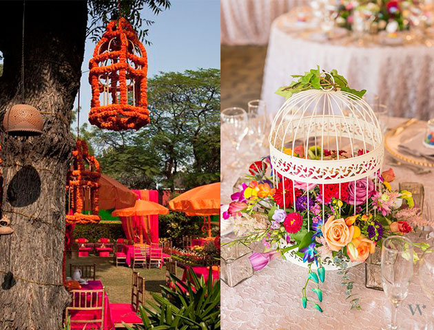 Beauty in a Cage - Mehendi Decor