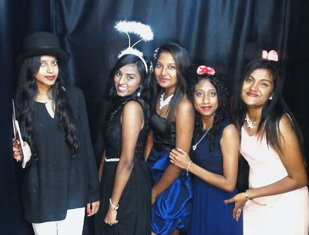 Photo booth for Farewell