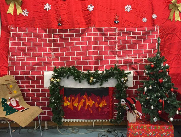 Photo booth for Christmas Party