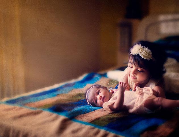 unique baby photoshoot ideas