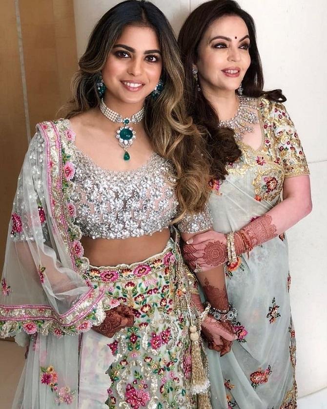 Akash Ambani and Shloka Metha