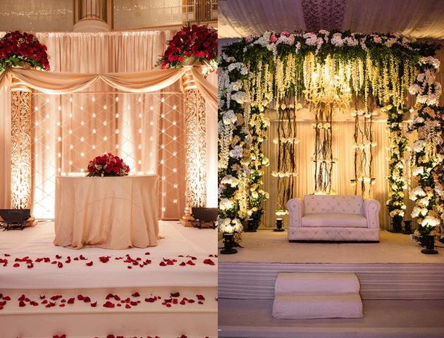 Light It Up - Elegant Ring Ceremony Decoration Ideas