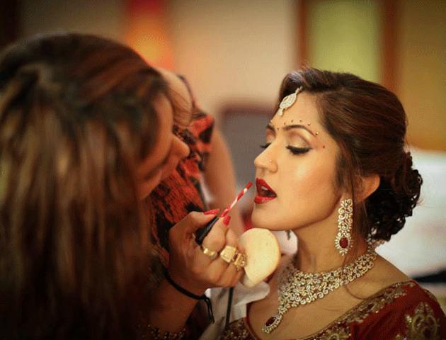 Ojas Rajani bridal Makeup