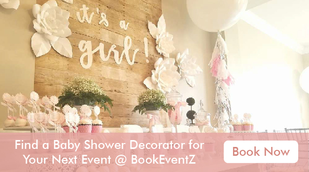Baby shower decorators, decor for baby shower, decoration ideas for baby shower