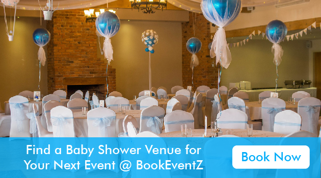 Baby shower party venues, venues for baby showers