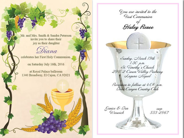 communion invitations, first communion invitations, first holy communion invitations, holy communion invitation, communion cards