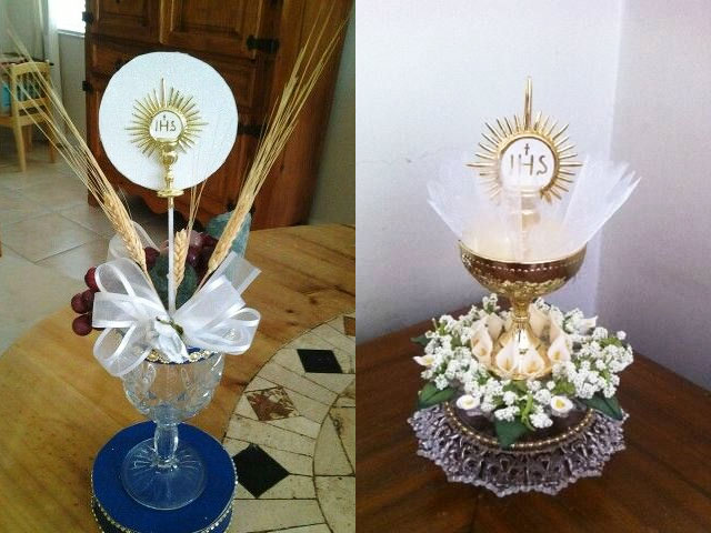 communion centerpieces, communion decorations, first communion party supplies, first communion centerpieces