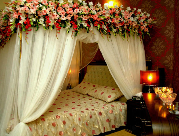 Wedding room decorations, First Night Bed Decoration, Wedding house decoration, first night decoration, Wedding bedroom decoration, wedding night room decoration