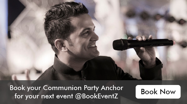 Party host, communion party host, party anchor in mumbai