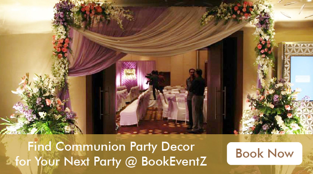 First holy communion party decorations, decoration for communion, communion decorations