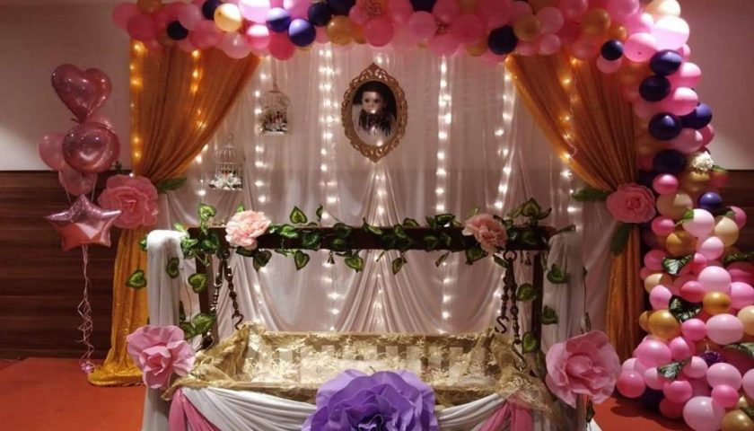 Naming Ceremony Decoration FI