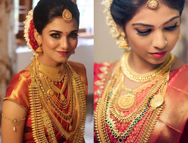 07b9da09e16d20 Neckpieces and Layered Chains – An Integral Part of South Indian Wedding  Jewellery
