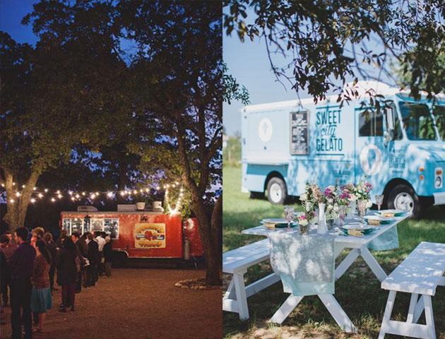 wedding food, wedding catering, wedding menu, wedding menu ideas, wedding food menu, food trucks, wedding food trucks