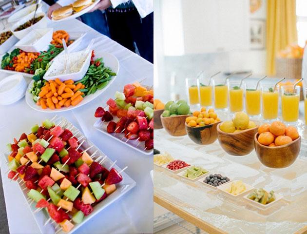 wedding food, wedding catering, wedding menu, wedding menu ideas, wedding food menu, healthy wedding menu