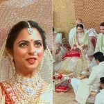 isha ambani, anand Piramal, isha ambani and anand Piramal, the ambani wedding, ambanis, ambani wedding