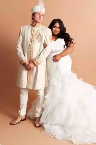 plus size wedding dresses, plus size fashion, plus size gowns, beautiful wedding dresses, princess wedding dresses, white wedding dresses, sherwani pagdi