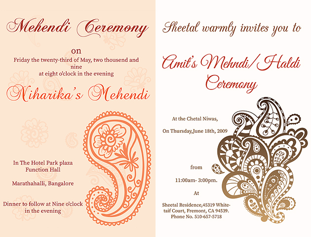 Latest Haldi Invitation Cards Haldi Ceremony Quotes Messages In