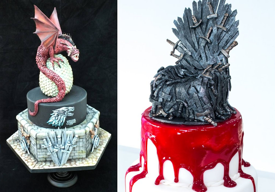 Game Of Thrones Birthday Party Decorations GOT Themed Cake