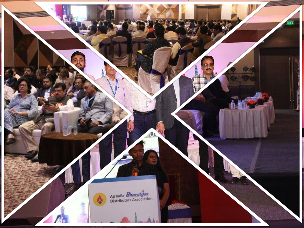 aibda, Bharat gas, real event, corporate event