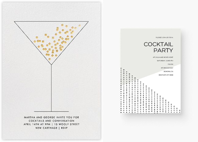 5 top cocktail party invitations only for the best parties