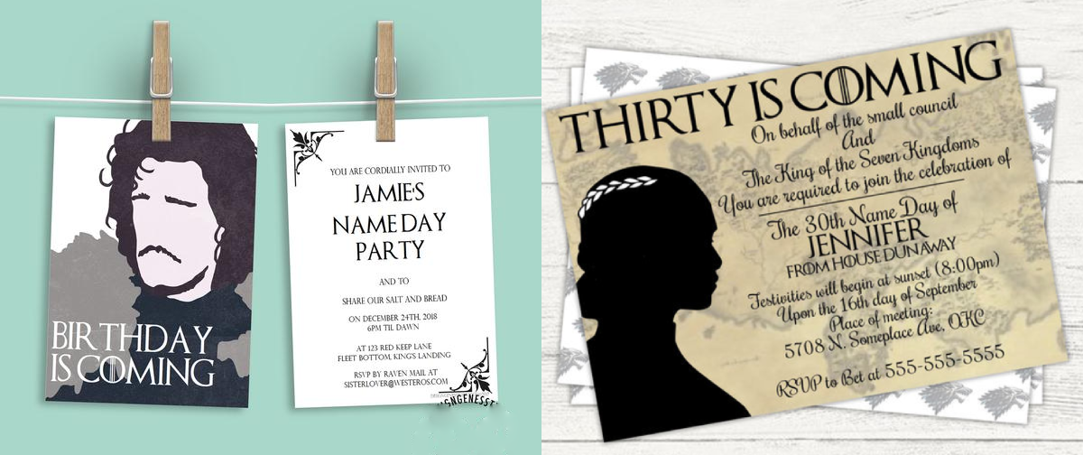 7 Game Of Thrones Themed Birthday Party Ideas You Need To Know