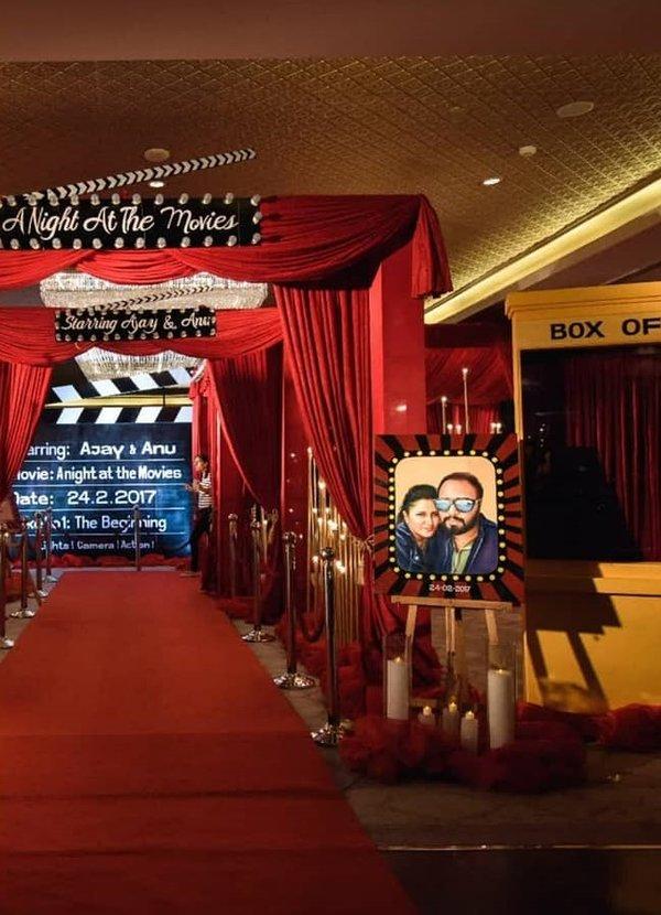 Bollywood Sangeet Decoration