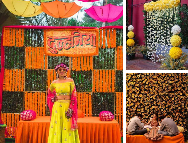 Haldi decoration ideas