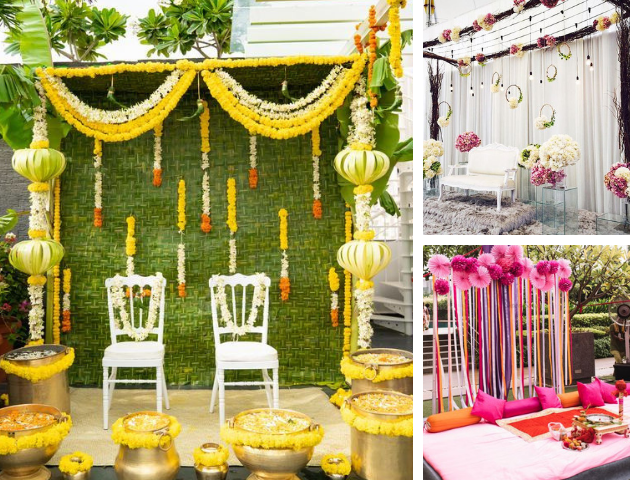 Haldi decoration under budget