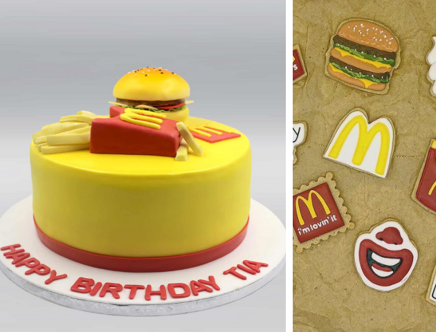 Mcdonalds birthday Cakes