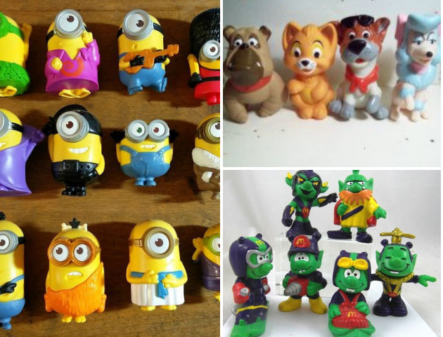 Mcdonalds Happy Meal toys