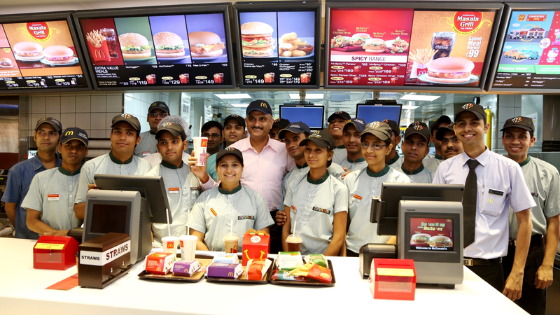 McDonalds Trained staff