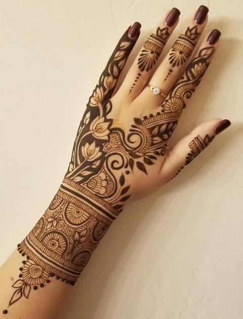 simple mehndi design, bridal mehendi designs, trending bridal mehendi designs