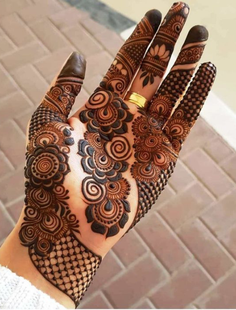 simple mehndi design, bridal mehndi design