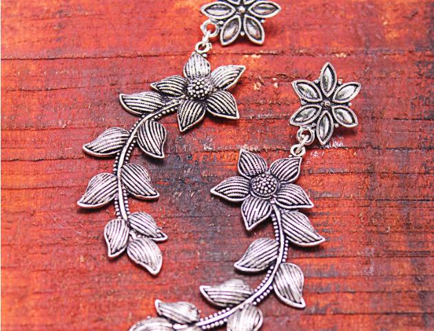 Sterling Silver earrings, Fashion jewellery
