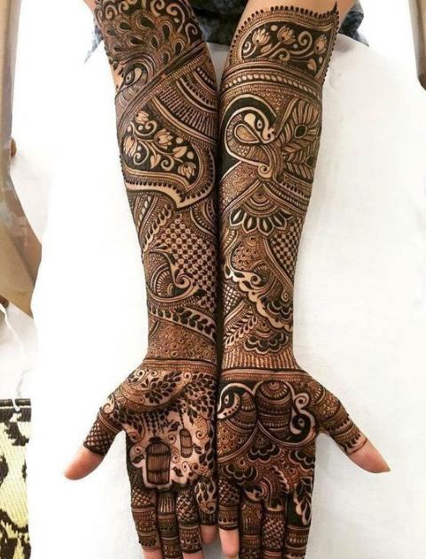 indian mehndi design, bridal mehndi design