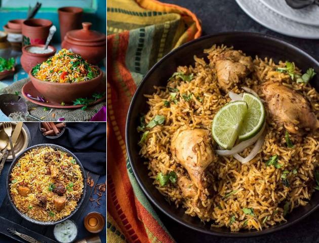 Best Indian wedding dishes main course: Chicken biryani