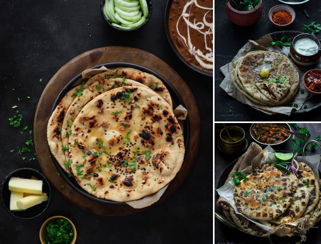 Best Indian Wedding Dishes Main Course - Aloo Paranthas