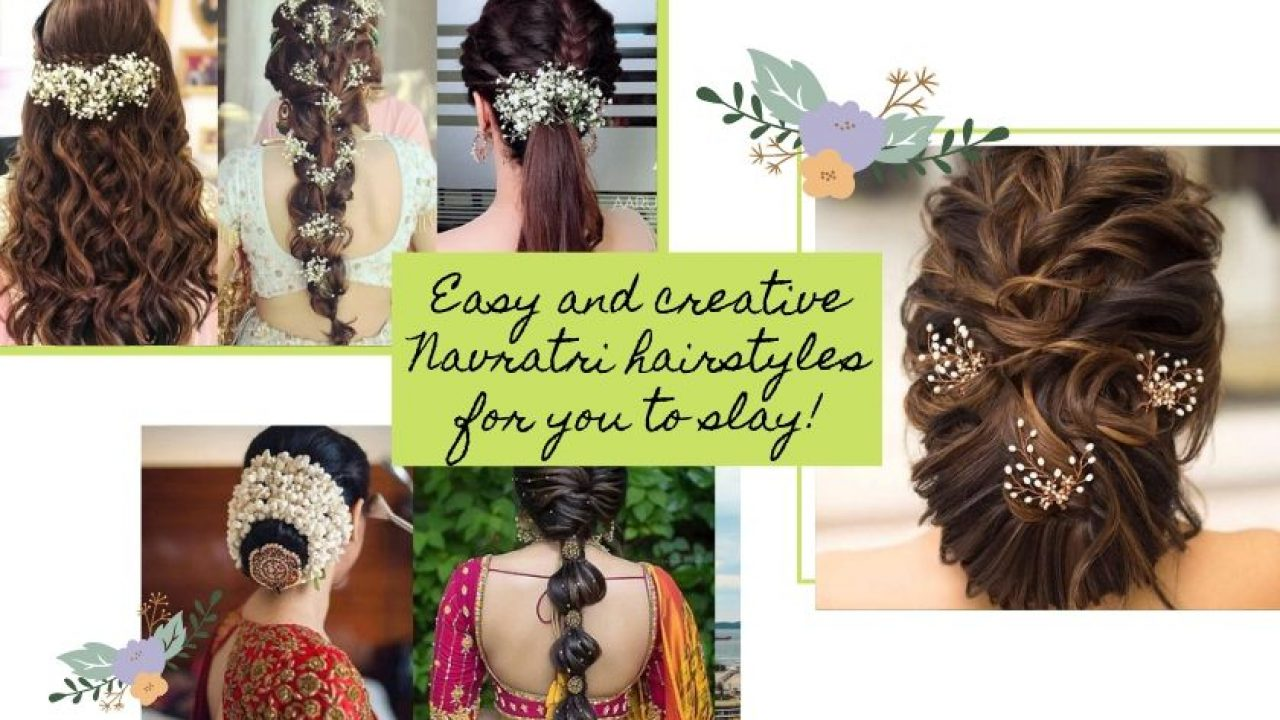 Easy and creative Navratri hairstyles for you to slay!