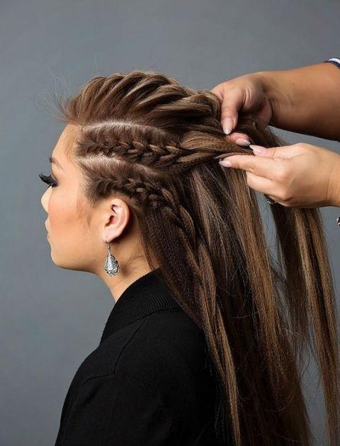 Navratri hairstyles, garba hairstyle, dandiya hairstyle, easy hairstyles for garba night, hairstyle for garba function, Navratri hairstyle step by step, hairstyle for garba night, Navratri hairstyle for long hair