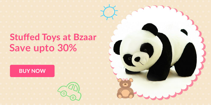Stuffed toys at Bzaar. Save upto 30%. Buy now