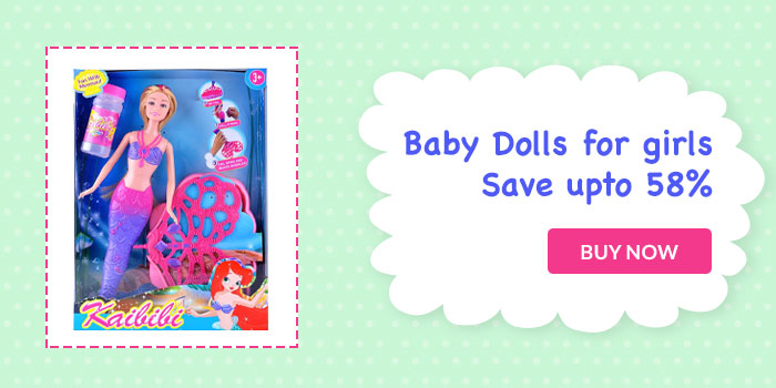 Baby Dolls for Girls. Save upto 58%. Buy Now